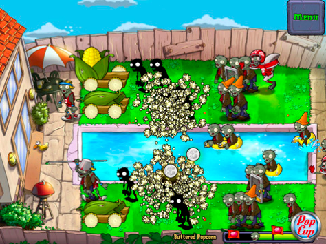 juego plants vs zombies hd para ipad