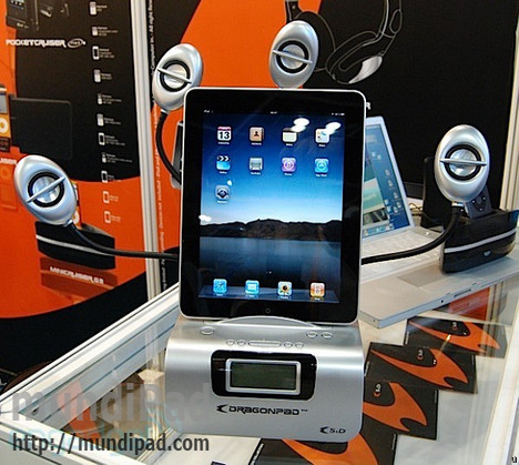 Base-dock-dragonpad-para-iPad