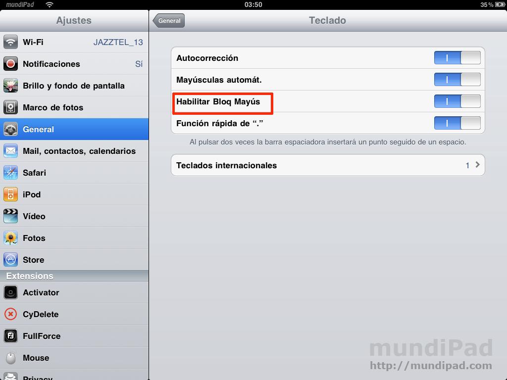 Bloqueo-de-mayusculas-iPad