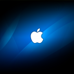 Wallpaper Apple icon