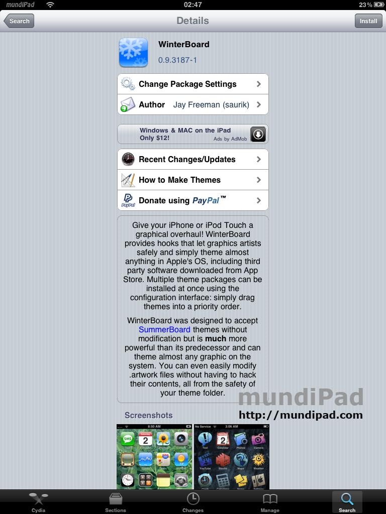 Winterboard-iPad
