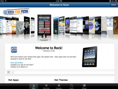 rockapp iPad