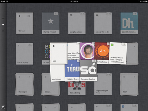 Reeder for iPad21