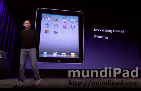 Nuevas funciones para iPad en iOS 4.2