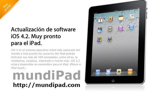 Pronto iOS 4.2