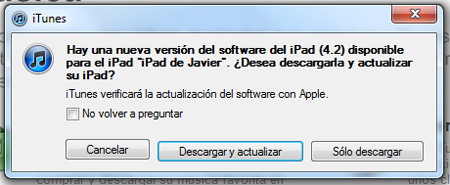 Actualizar iPad