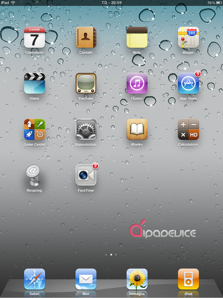 FaceTime iPad 1