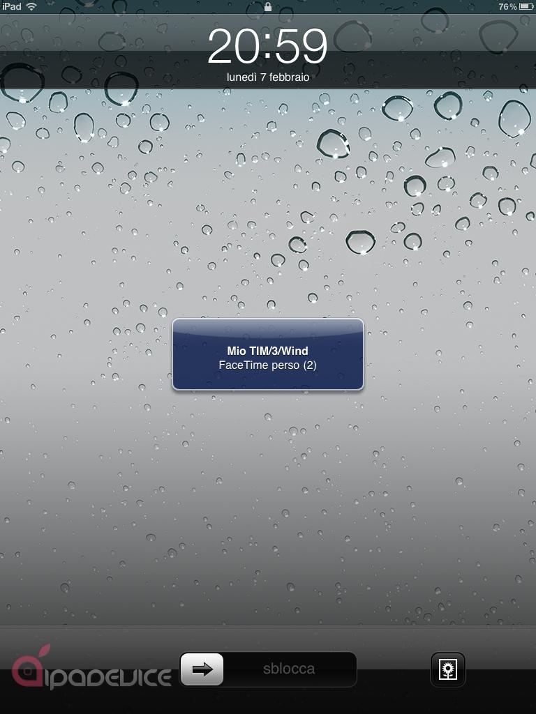 FaceTime iPad 3