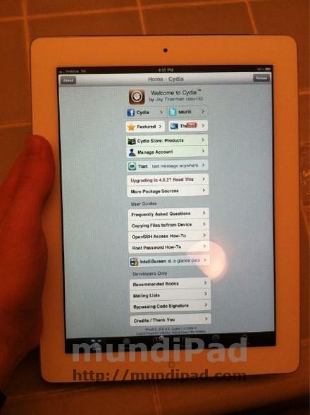 imagen jailbreak iPad 2