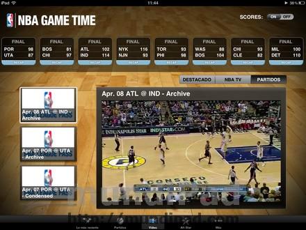 Partidos NBA