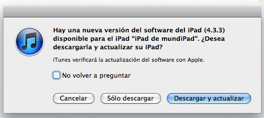 iOS 4.3.3 mundiPad