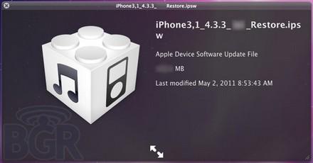 iOS 4.3.3 BGR