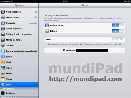 Activar iCloud