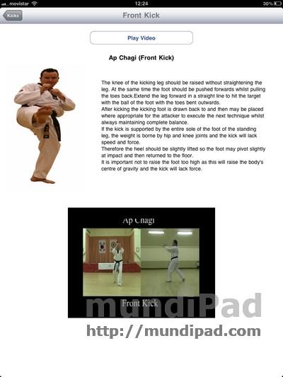 Taekwondo kiksc app