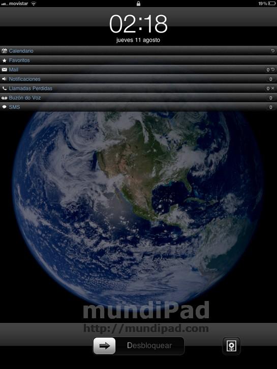 Lock Info iPad