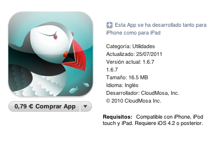 Comprar Puffin para iPad