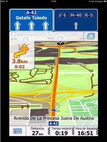 iGO Iberia iPad