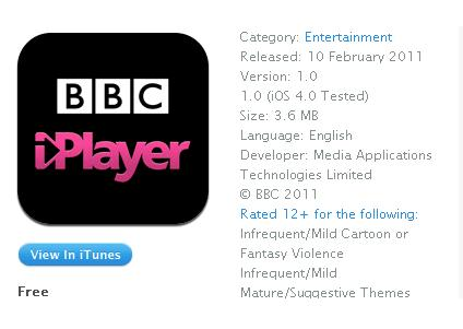 iPlayer itunes