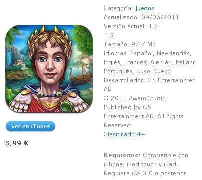 Romance of Rome iTunes