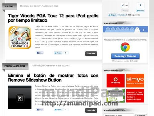 FullScreen for iPad