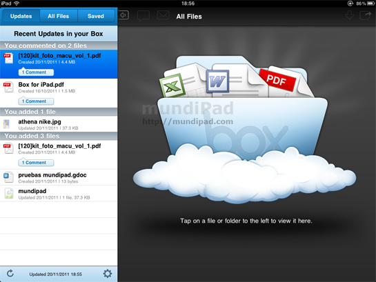box para ipad