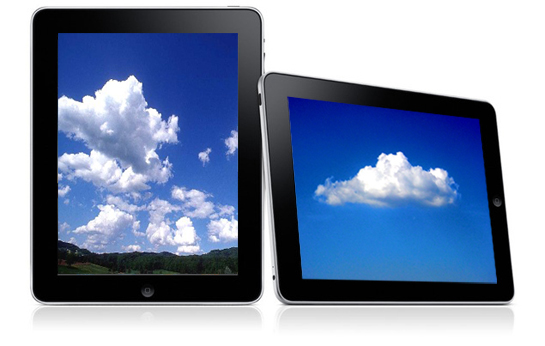 cloud storage ipad