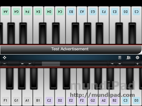 Virtuoso Free piano
