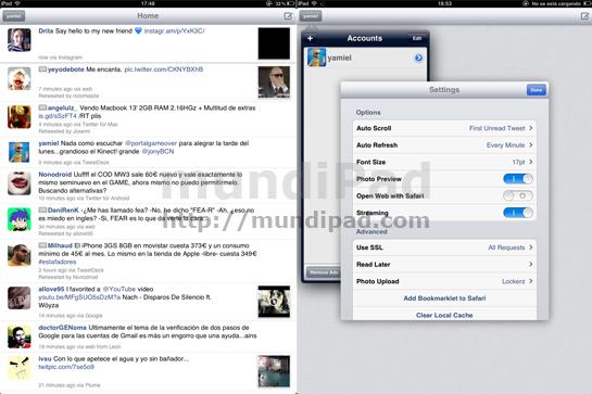 echofon para iPad