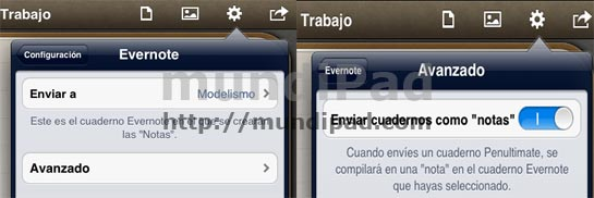 Evernote en Penultime