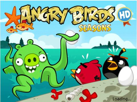 Juego Angry Birds Seasons HD gratis en la AppStore