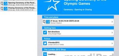 London 2012 competiciones