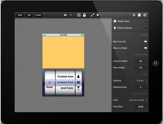 Crea prototipos de tus aplicaciones