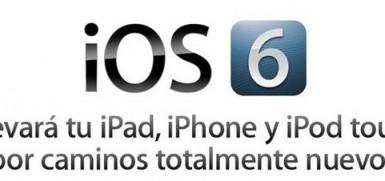 Novedades iOS 6