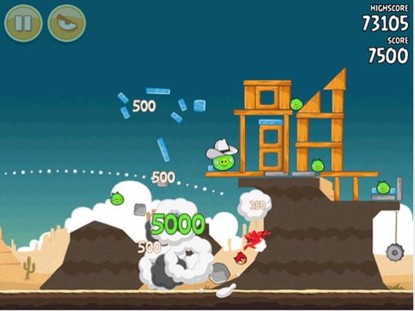 Actualizacin de Angry Birds HD a la versin 23