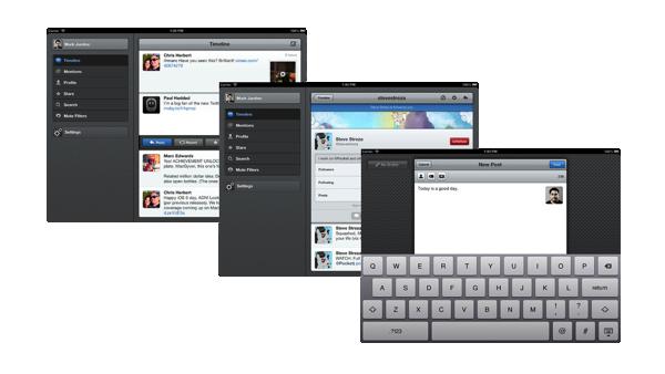 Netbot el cliente de App.net de Tapbots llega al iPad