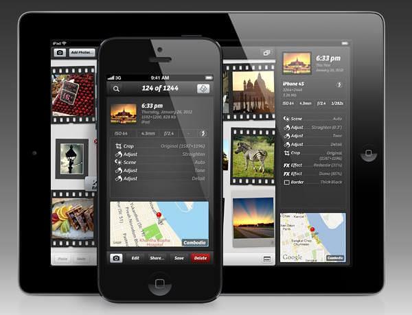 Camera + en iPad