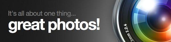 Camera + en iPad Logo