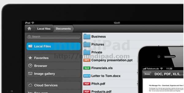 File Manager Pro para iPad