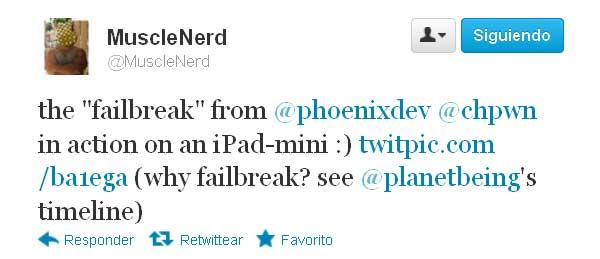 Jailbreak al iPad Mini y al iPad de 4ª generación