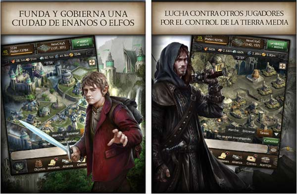 The Hobbit: Kingdoms of Middle-Earth para iPad