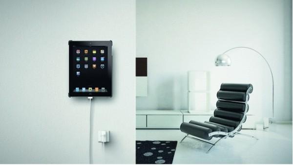 soporte de pared para el iPad