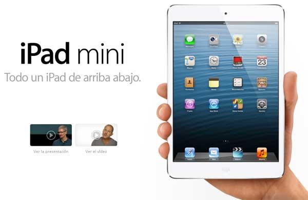 Ventas iPad Mini