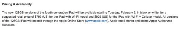 iPad de 128Gb