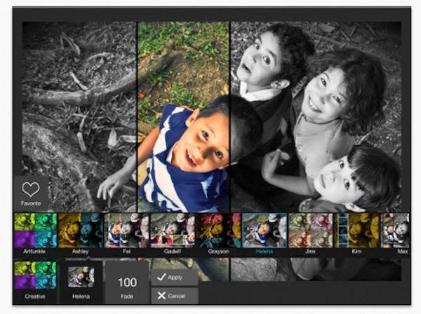 editor de fotos para ipad