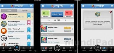 Hooptap, un juego de pruebas muy social con premios en regalos