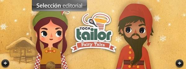 Toca Tailor Fairy Tales y diseña tu propia ropa