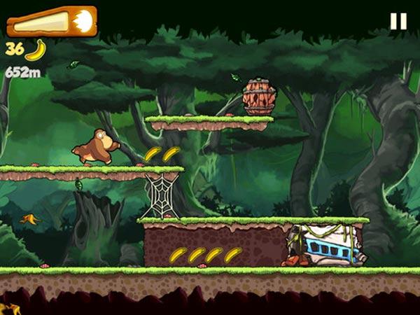 Banana Kong es un juego para iPad