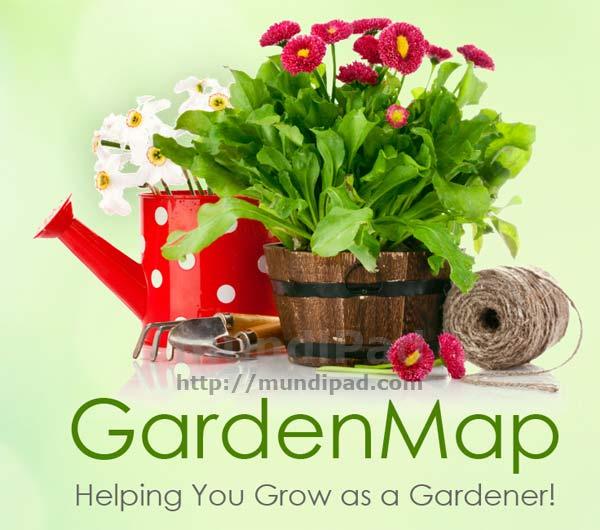 GardenMap para iPad