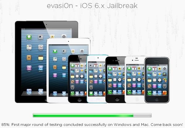 Jailbreak del iPad con evasi0n