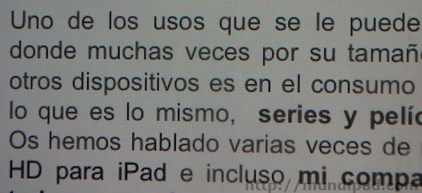 resoluciones y pulgadas de los iPad